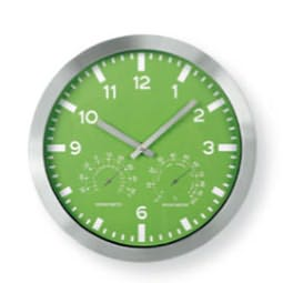 OROLOGIO WEATHER STATION COLOR �30cm VERDE ART.3218 - , ,