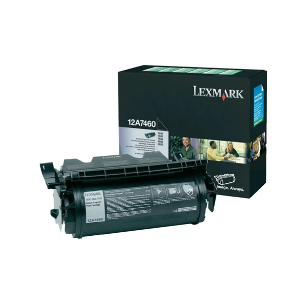 Lexmark/Ibm - Toner - Nero - 12A7460 - return program - 5.000 pag